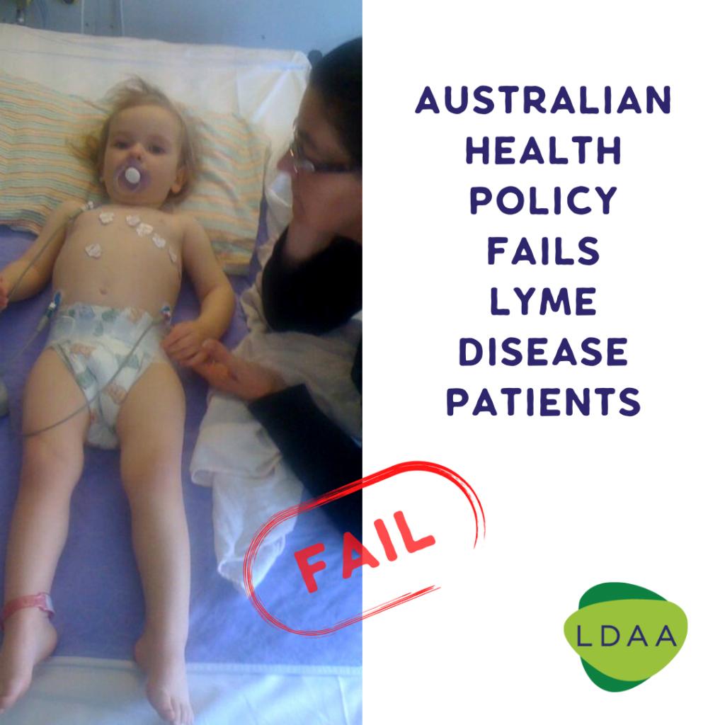 Health policy fail - Lyme Disease Association of Australia