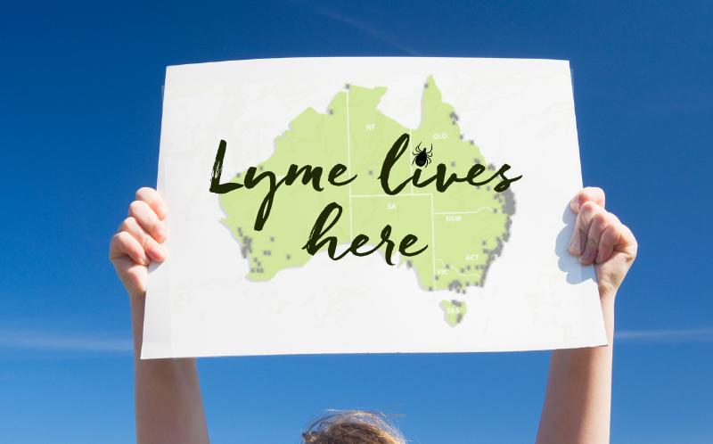 Lyme LDAA - Australian Lyme sign